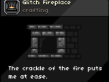 Glitch Fireplace
