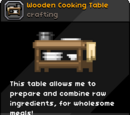 Wooden Cooking Table