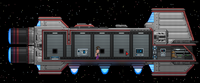 Human tier 1 spaceship