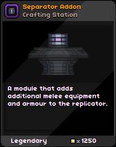 Seperator Addon Infobox