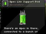 Apex Life Support Pod