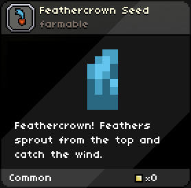 Feathercrownseed infobox