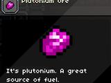 Plutonium Ore