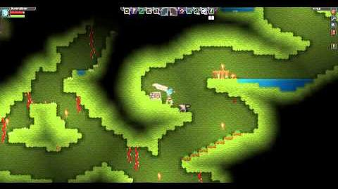 Starbound Hunting Knife - Left & Right click attacks