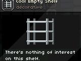 Cool Empty Shelf