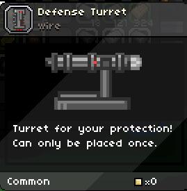 Starbound defense turret wiring