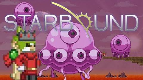 Starbound How to kill the Jelly Boss LEGITIMATELY, no traps or arenas