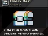 Rainbow Chest
