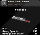 Blunt Shortsword