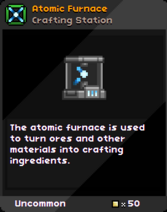 Atomic Furnace Infobox