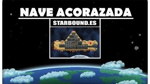 Starbound MOD en Español - ¡Nave acorazada de Avian!