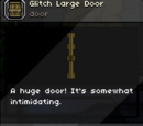 Glitch Large Door