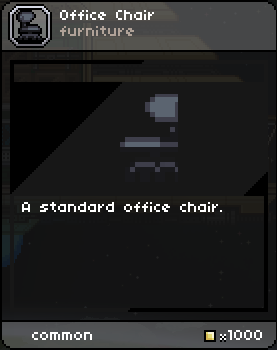 Office Chair Starbound Wiki FANDOM powered by Wikia