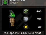 Aphotic Armor