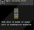 Apex Security Door