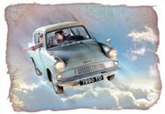 The Weasly's Flying Car