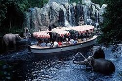 Jungle Cruise Boats