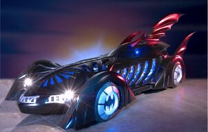 Batmobile batman forever movie 1995 val kilmer