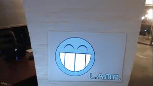 Lamp smile