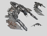 Vanduul Fighter Concept Art
