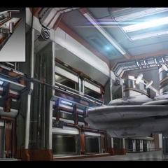 Deluxe hangar (concept art)