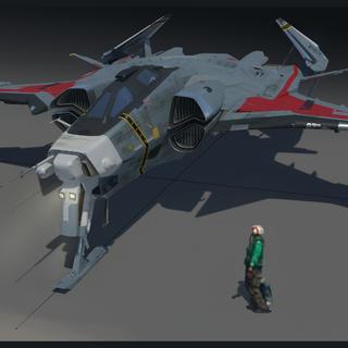 Gladiator model - work in progress