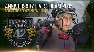 Squadron 42 Behind the Scenes - Mark Hamill