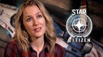 Gillian Anderson - Star Citizen Squadron 42 Behind the Scenes