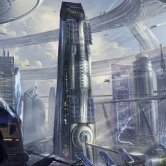 Jata City, Cestulus Planet by Elijah McNeal