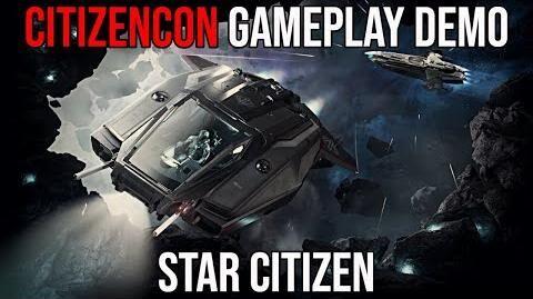 STAR CITIZEN CitizenCon 2019 NEW Gameplay DEMO
