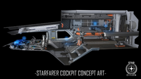Starfarer cockpit concept art