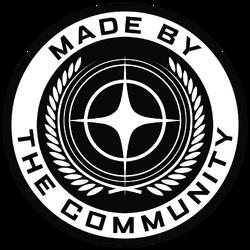 MadeByTheCommunity White