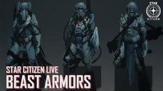 Star Citizen Live Beast Armors