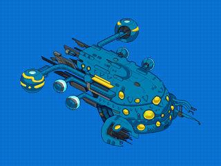 Ship trilaxian