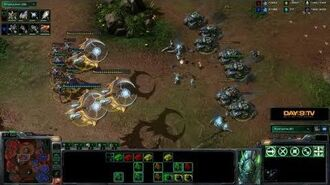 StarCraft II Heart of the Swarm - Battle Report (Protoss vs Terran)