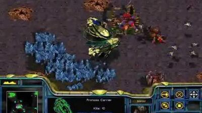 Starcraft - Protoss Mission 10 Eye of the Storm + Ending + Credits