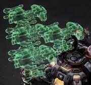 BattlecruiserCommandCenterMissileTurret SC2-LotV DevGame1