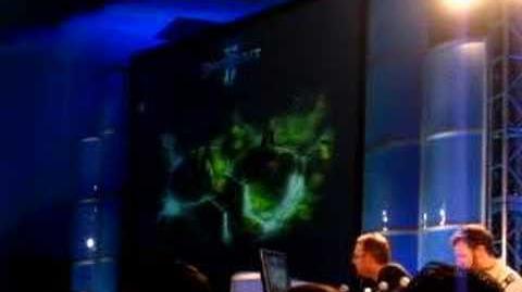 Blizzcon 2007 Starcraft 2 Art panel 6 6