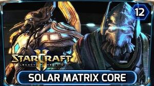 Starcraft 2 ► Legacy of the Void Cutscene - The Solar Matrix Core (LOTV Campaign Walkthrough)