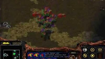 Starcraft Brood War - Zerg Mission 6 Fury of the Swarm