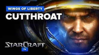 StarCraft 2- Wings of Liberty - Mission (Optional) - Cutthroat Walkthrough - Hard Difficulty