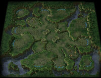 LostTemple SC2 Map1