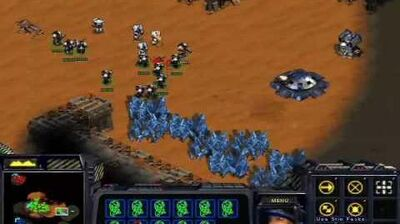 Starcraft Brood War - Terran Mission 4 Assault on Korhal