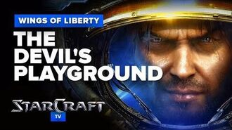 StarCraft 2- Wings of Liberty - Mission (Optional) - The Devil's Playground Walkthrough - Hard