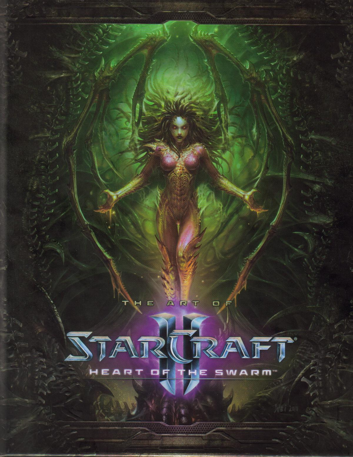 The Art Of StarCraft II Heart Swarm