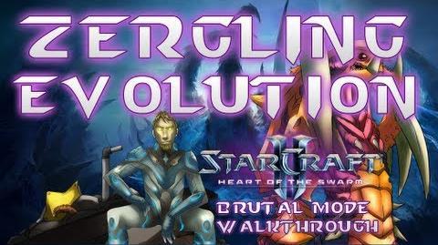 Zergling Evolution Mission Brutal Mode Walkthrough Heart of the Swarm