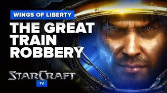 StarCraft 2- Wings of Liberty - Mission (Optional) - The Great Train Robbery Walkthrough - Hard