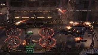 Starcraft 2 NOVA COVERT OPS - The Escape - Brutal Guide - All Achievements (Mission 1)
