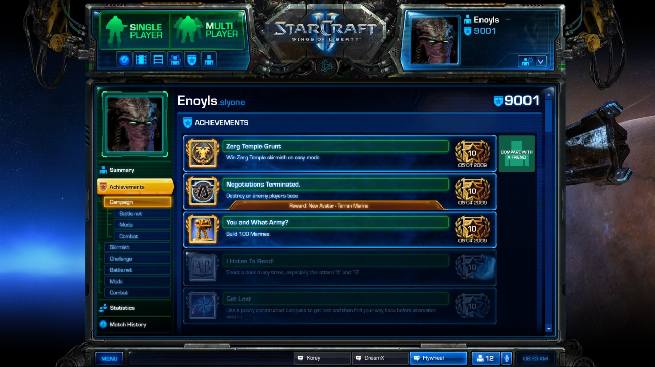 Achievements | StarCraft Wiki | FANDOM powered by Wikia