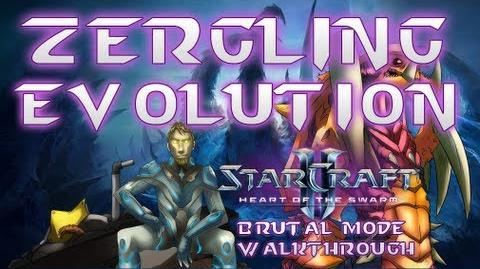 Zergling Evolution Brutal Mode Walkthrough Heart of the Swarm